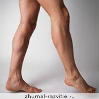 Связь характера и ног